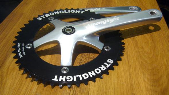 Pédalier Stronglight Track 2000