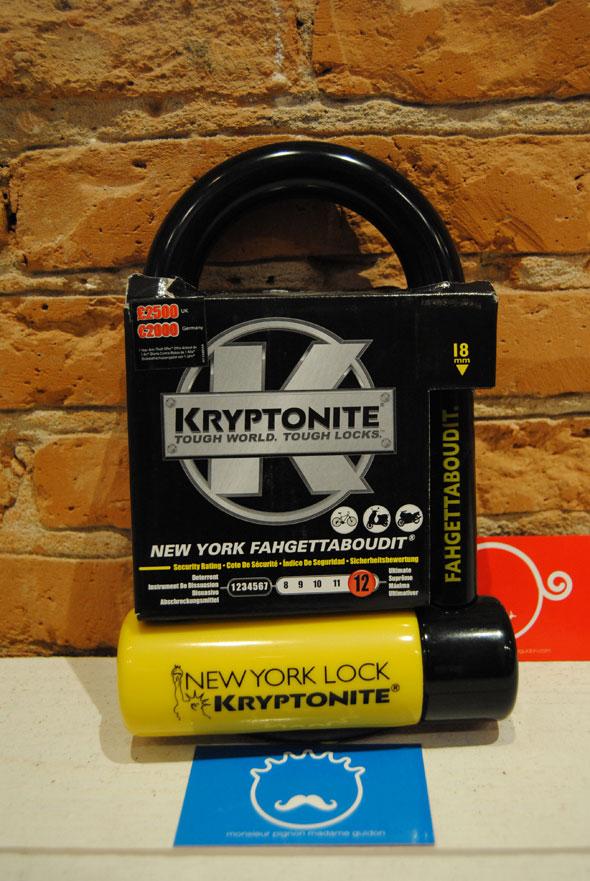 Kryptonite Antivol New-york Fahgettaboudit