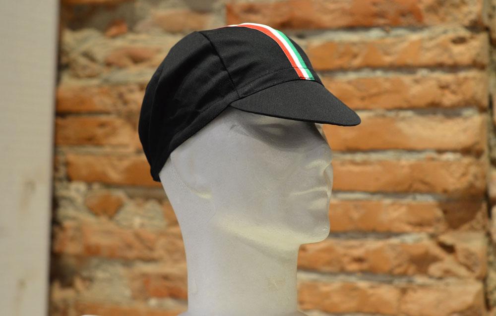 Casquette Velo Noir Italy