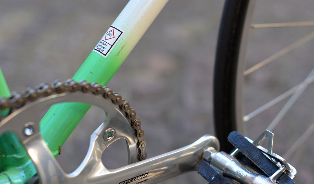 pedalier campagnolo pista