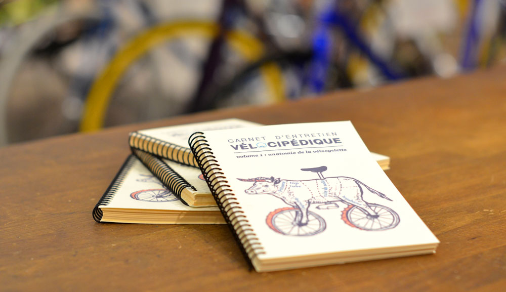 carnet entretin vélocipédique