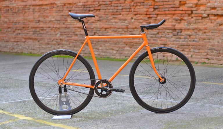 Rétropédalage orange