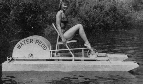 Vintage Paddle Boat Plans