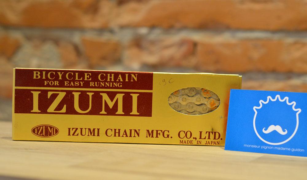 Chaine Velo Izumi Or Doree