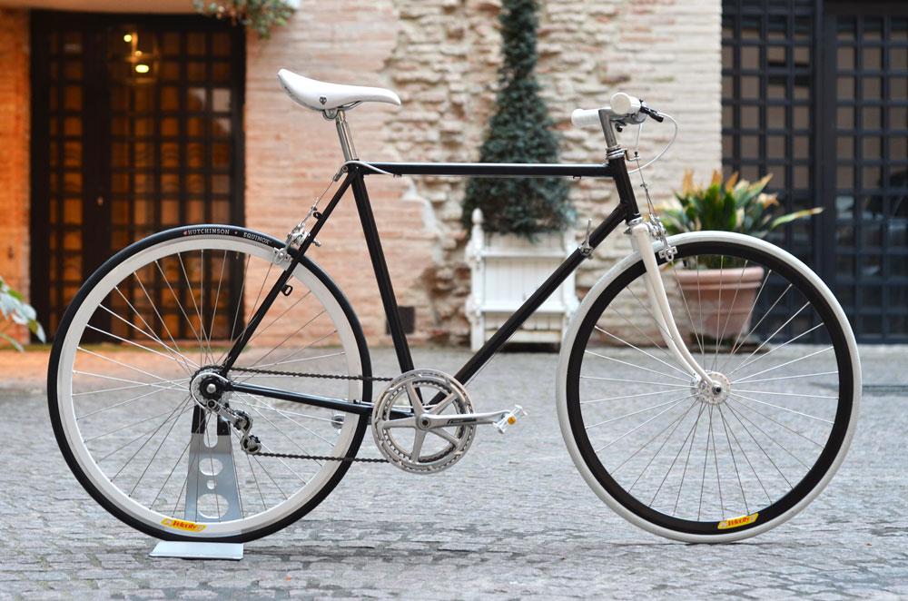 Black White Bike