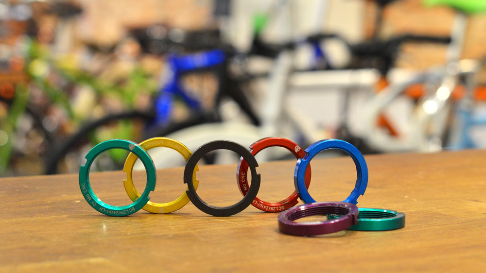 lockring blb color fixie track