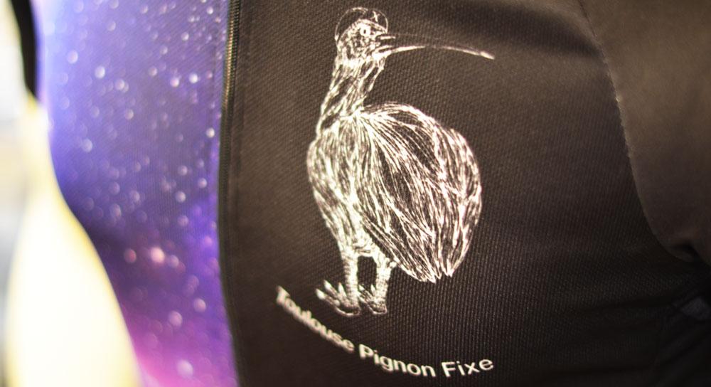 Toulouse Pignon Fixe Jersey Kiwi