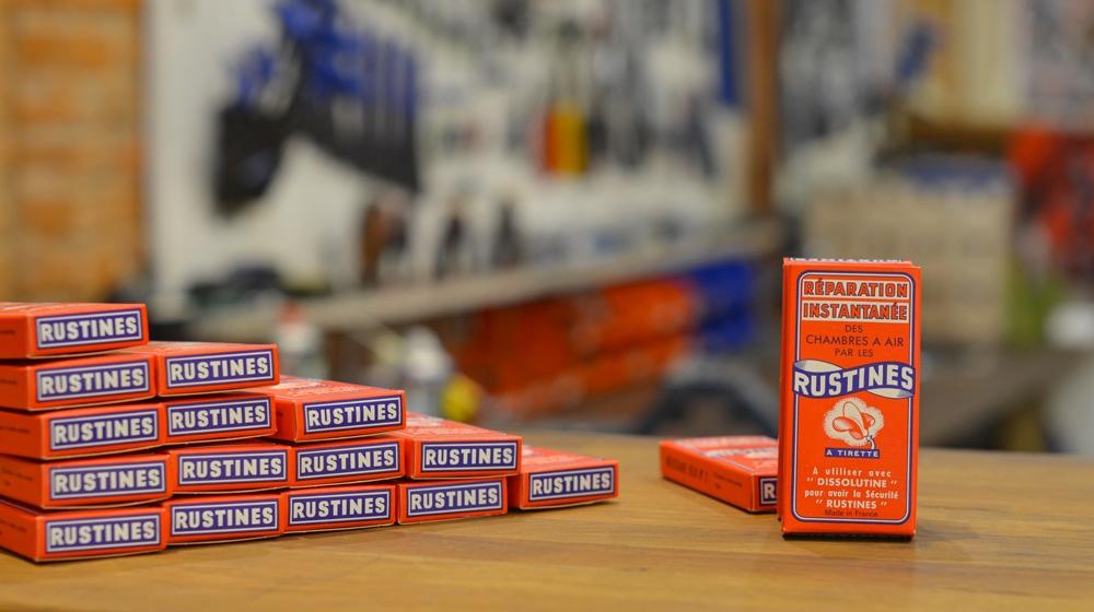 Rustine Boite Carton