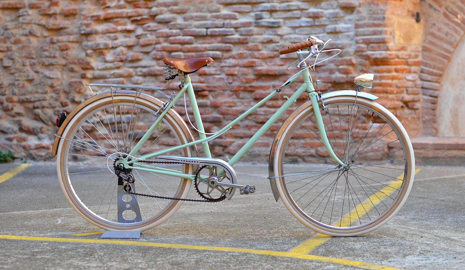 Velo Peugeot Femme Vintage